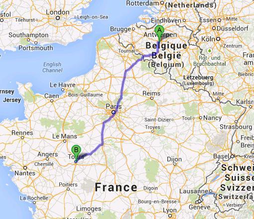 Brussels trip planner