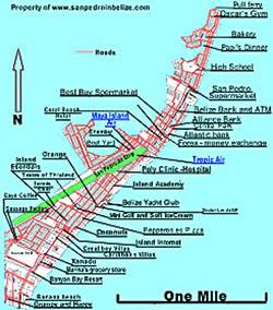 Belize City Travel Guide Tourist Attractions Trip Resort - Belize tourist map