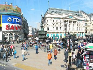 Piccadilly Circus trip planner